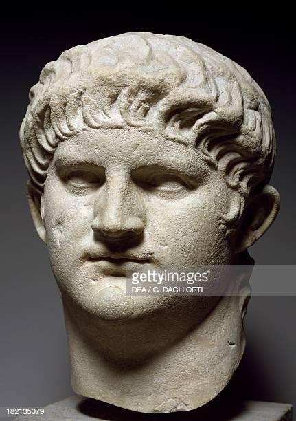 Mould depicting Nero Roman Civilisation 1st century Monaco Glyptothek