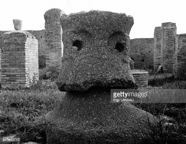 Moulin de la cité romaine d'Ostie Italie