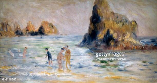 Moulin Huet Bay Guernsey ca 1883 by Pierre Auguste Renoir Oil on canvas 1910 PierreAuguste Renoir commonly known as Auguste Renoir was a French...