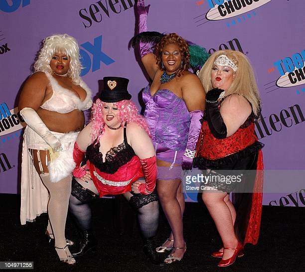 Moulin Huge during The 2001 Teen Choice Awards Press Room at Universal Amphitheater in Universal City California United States