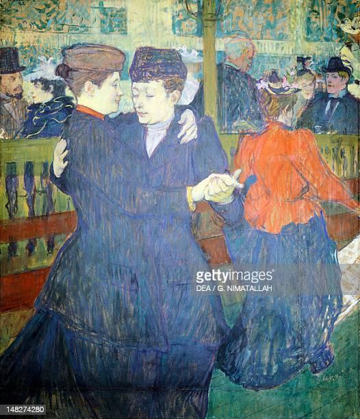 Moulin Rouge by Henri de Toulouse Lautrec Prague Národní Galeri V Praze
