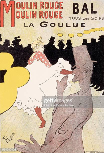 Moulin Rouge La Goulue Poster by Henri de ToulouseLautrec