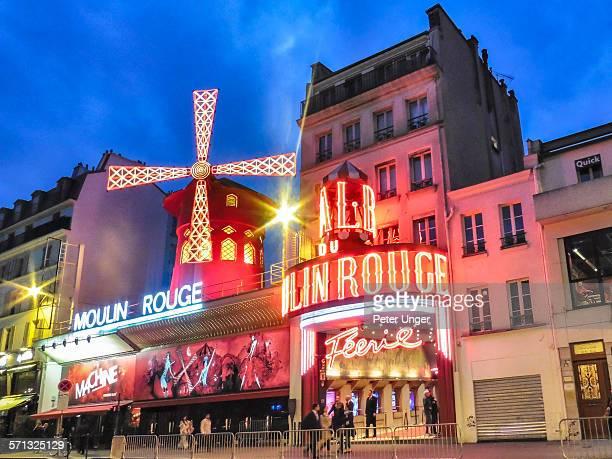 Moulin Rouge Theatre, Paris