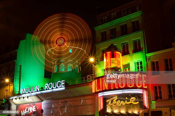 Moulin Rouge wraps in green