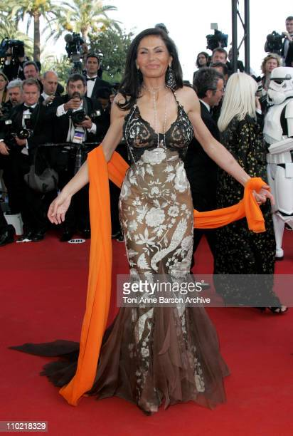 Mouna Ayoub during 2005 Cannes Film Festival 'Star Wars Episode III Revenge of the Sith' Premiere in Cannes France