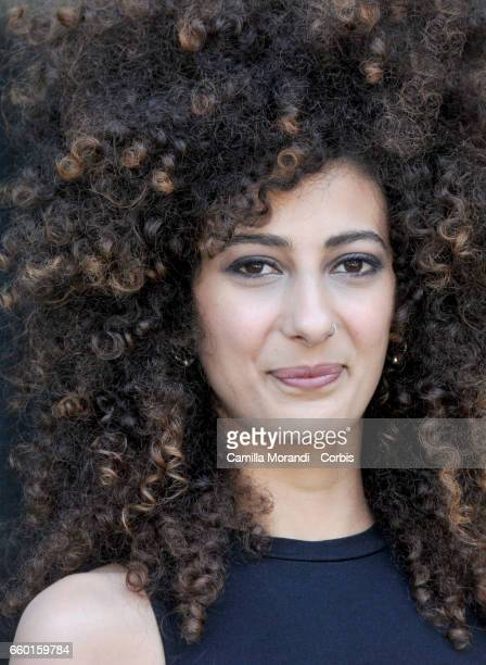 Mouna Hawa attends a photocall for 'Libere Disobbedienti Innamorate In Between' on March 29 2017 in Rome Italy