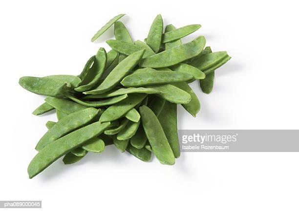 Mound of snow peas