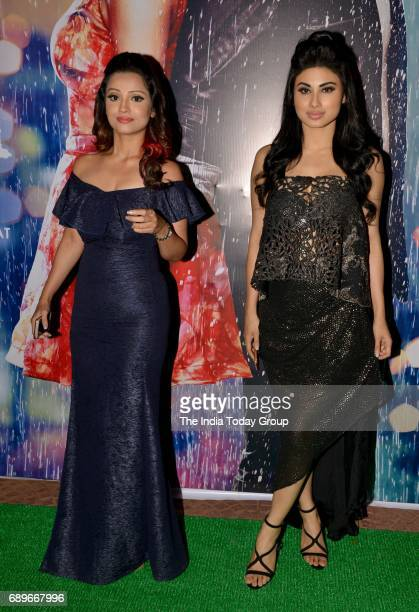 Mouni Roy and Adaa Khan during a success party of the film 'Half Girlfriend' in Mumbai