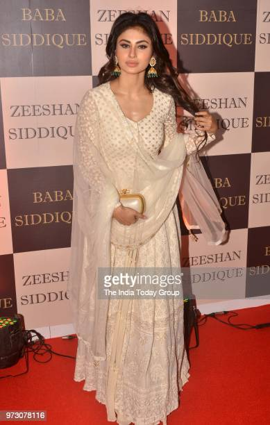 Mouni Roy at Baba Siddiques Iftar party in Mumbai