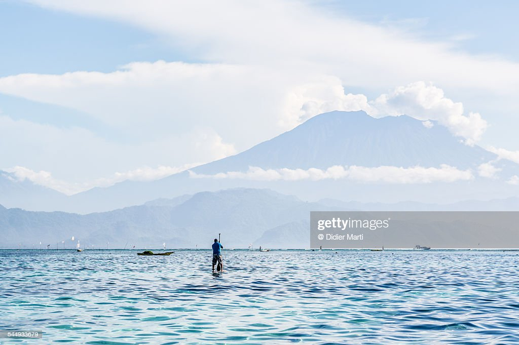 Mount Agung in Bali : Stock Photo