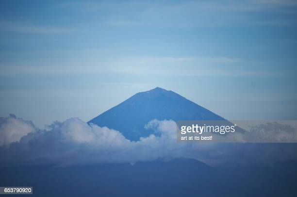 Mount Agung of Bali Indonesia