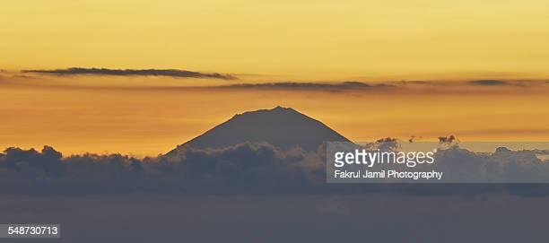 Mount Agung Sunset