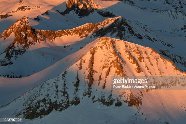 mount ansel adams in snow - peter adams stock pictures, royalty-free photos & images
