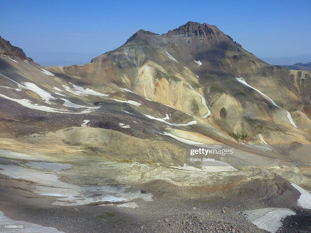 Mount Aragats in Armenia : Stockfoto
