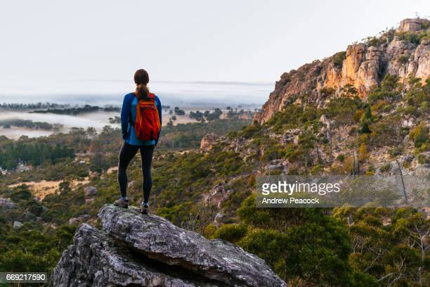 Mount Arapiles is a spectacular feature, rising sharply from the Wimmera plains to form part of the Mount Arapiles-Tooan State Park.