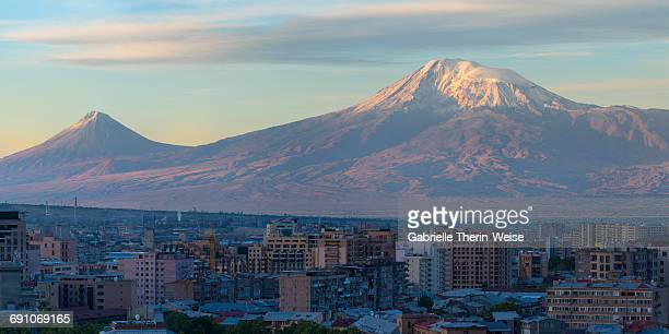 Mount Ararat and Yerevan