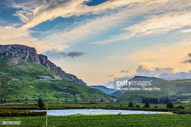 Mount Arbel and the Valley of Doves