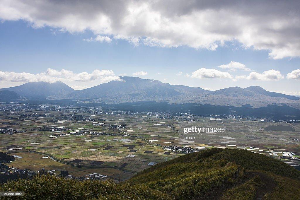 Mount Aso : Stock Photo