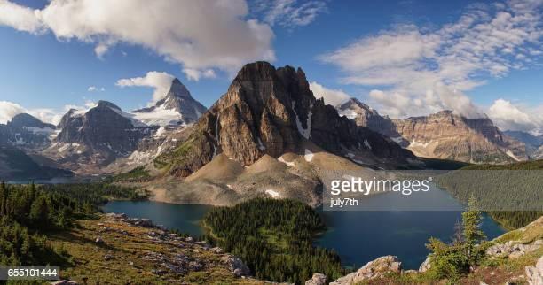 Mount Assiniboine and Sunburst Peak