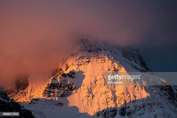 Mount Assiniboine at sunrise
