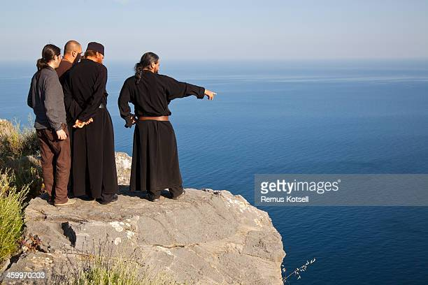 Mount Athos Monks