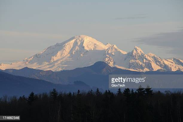 mount baker - washington state stock pictures, royalty-free photos & images