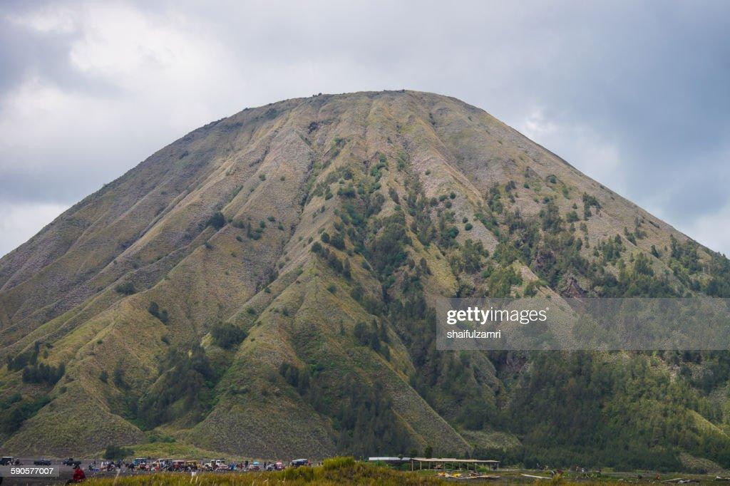 Mount Batok : Stockfoto