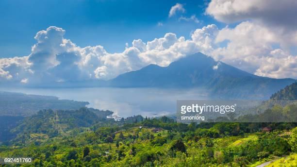 Mount batur at Kintamani in Bali, Indonesia