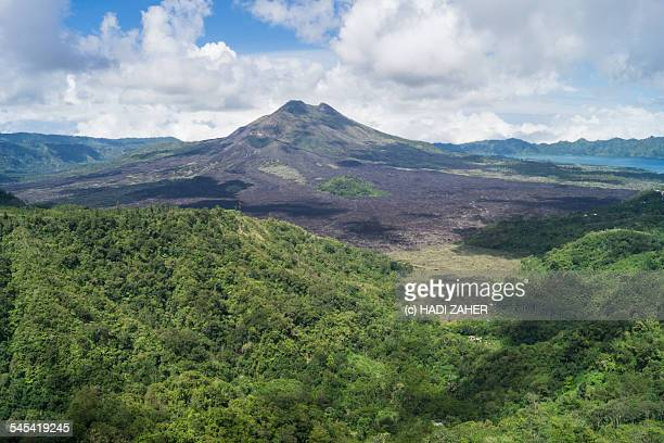 mount batur valley | bali | indonesia - kintamani district stock pictures, royalty-free photos & images