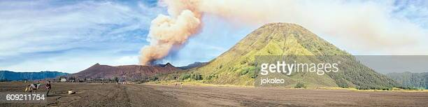 mount bromo - bromo crater stock pictures, royalty-free photos & images