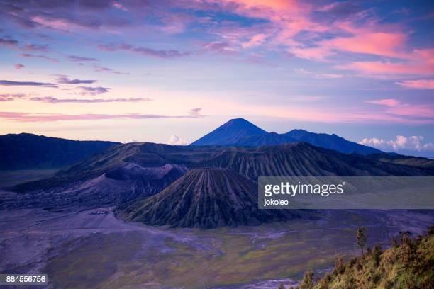 mount bromo tengger semeru national park - bromo crater stock pictures, royalty-free photos & images