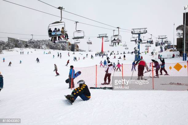 Mount Buller Ski Resort, Victoria, Australia.