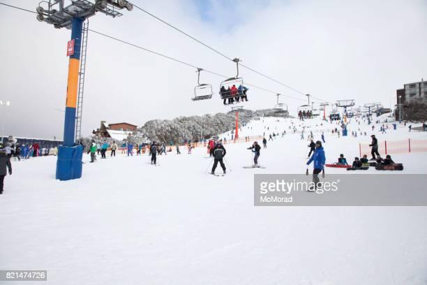 Montaje Buller Ski Resort, Victoria, Australia.