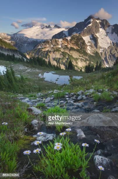 Mount Challenger and Whatcom Peak