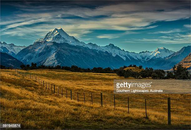 Mount cook national park, South Island of New Zealand.