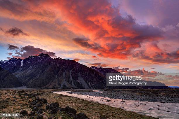 Mount Cook National Park sunrise