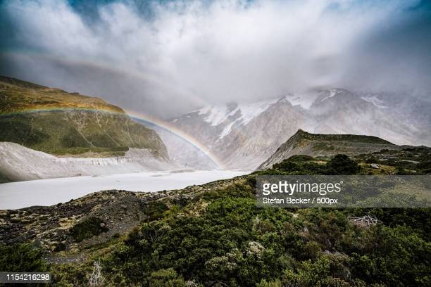 mount cook nationalpark - nationalpark stock pictures, royalty-free photos & images