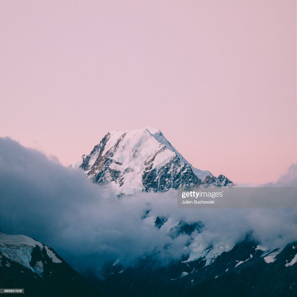mount cook new apple wallpaper stock photo | getty images