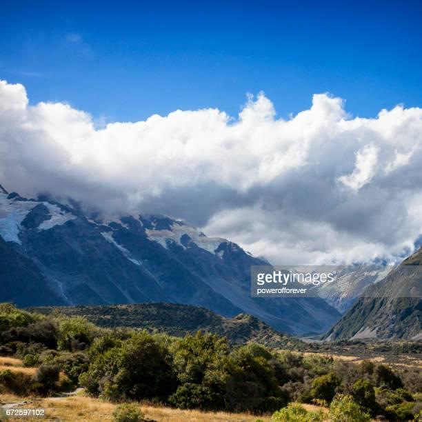Mount Cook les Alpes du sud de la Nouvelle-Zélande