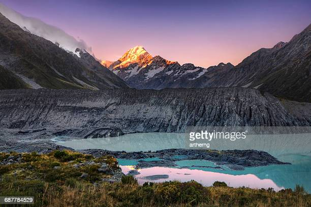 Mount Cook Sunset, MacKenzie, South Island, New Zealand
