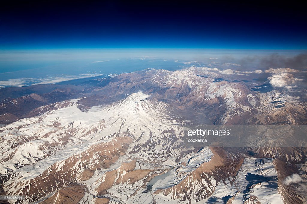 Monte Damavand : Foto de stock