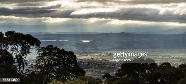 mount dandenong, melbourne, australia - dandenong stock photos and pictures