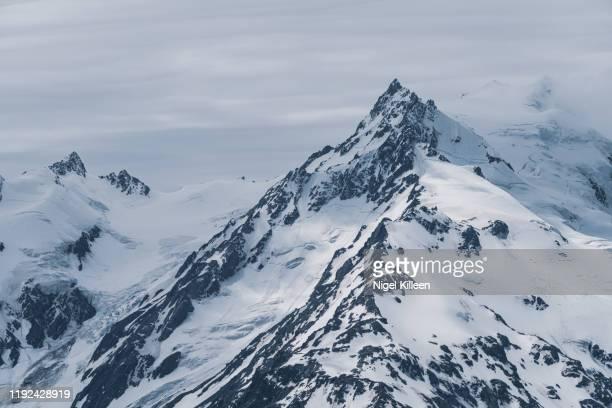 mount de la beche, new zealand - beche stock pictures, royalty-free photos & images