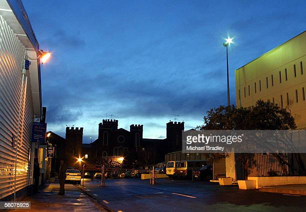 Mount Eden Prision at 6am seems quiet after prison wardens were suspended for taking low level industrial action and army troops moved in The...