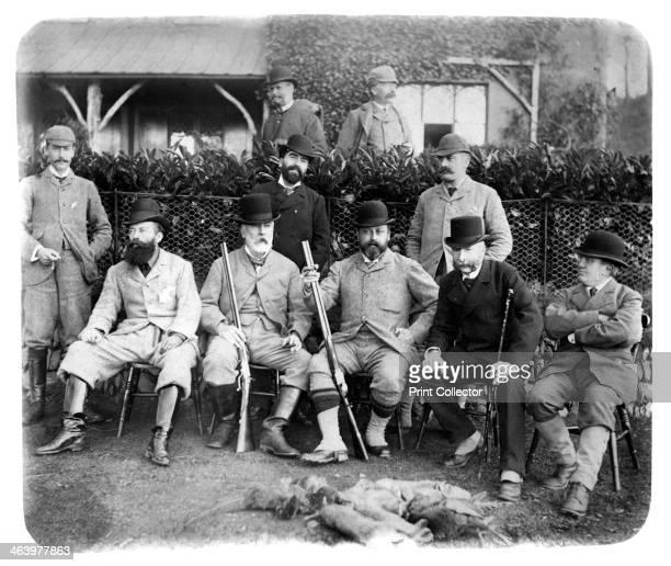 Mount Edgcumbe, Group Photo with Edward VII, c1882.