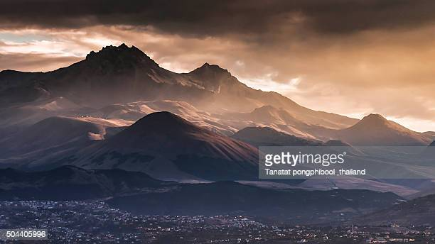 Mount Erciyes at Kayseri, Turkey