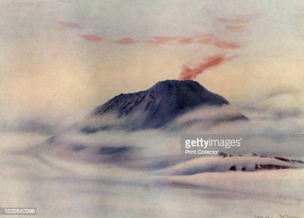 Mount Erebus' circa 1911 Erebus is the secondhighest volcano in Antarctica and the southernmost active volcano on Earth The final expedition of...