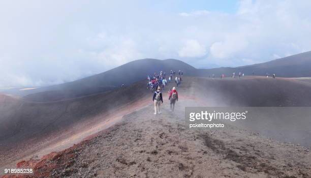mount etna 1 - mt etna stock pictures, royalty-free photos & images