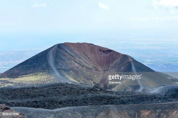 Volcan de l'Etna en Sicile, Italie