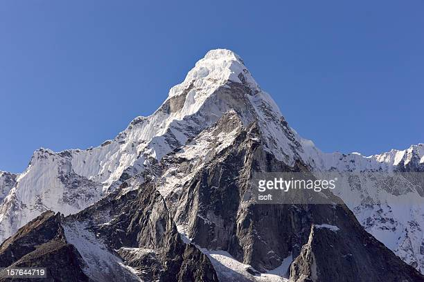 Mount Everest Circuit against a blue sky